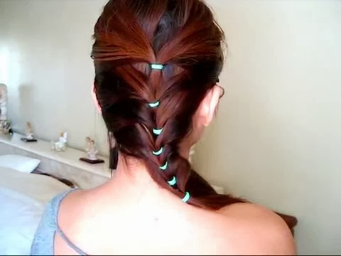 cute and easy hairstyle school