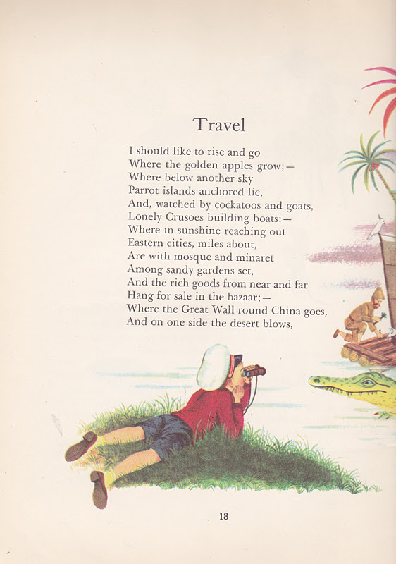 a childs garden of verses robert louis stevenson illustrated by gyo fujikawa 1957 - A Childs Garden Of Verses