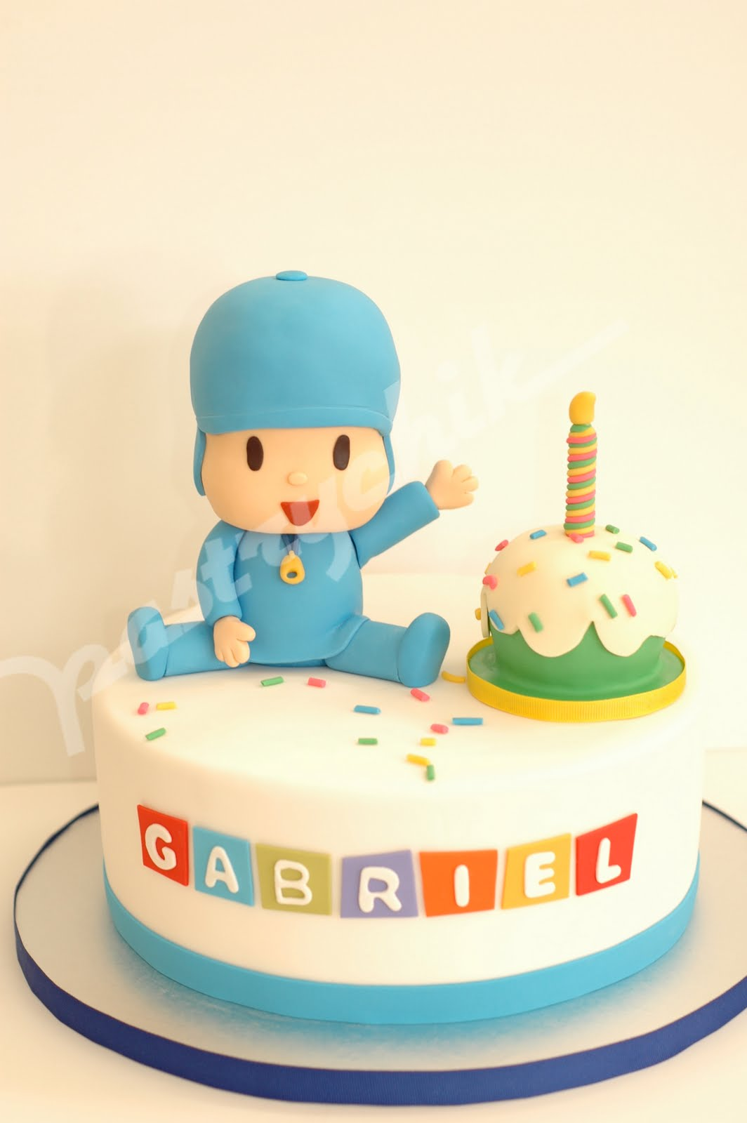 Pocoyo Happy Birthday Cake