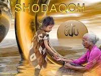 SHODAQOH, PELEBUR DOSA dan PENANGKAL MUSIBAH