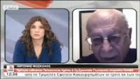 """Αντώνης Φώσκολος για Κύπρο, εκπομπή """"Τώρα"""" ΣΚΑΙ 21/03/2013."""