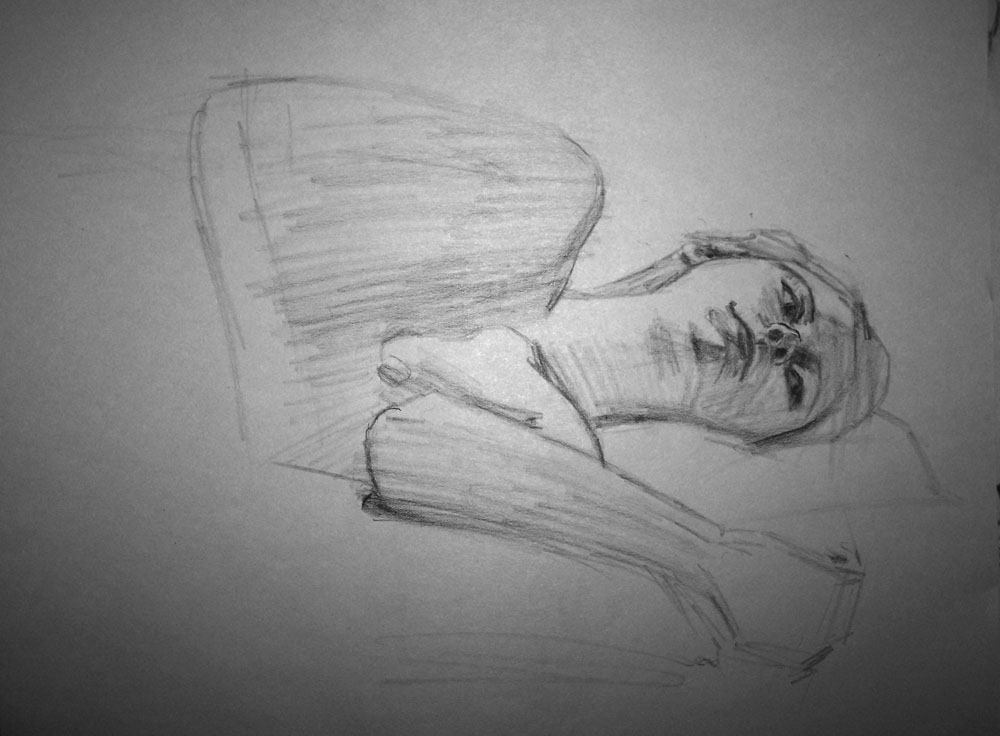 Too much wyeth in this sketchbook.
