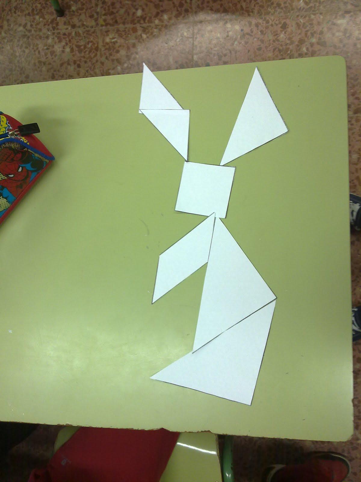 Como hacer un conejo con figuras geometricas imagui - Como hacer figuras con chuches ...