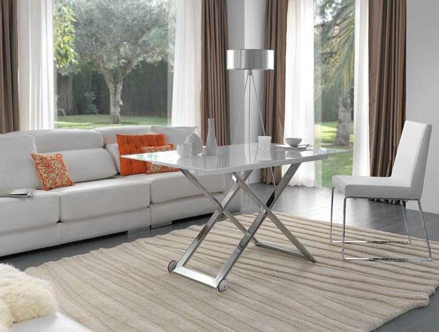 Mesa de centro elevable a mesa de comedor - Mesas de centro que se elevan ...