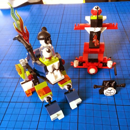 LEGO Mixels series 4 mix it up Spring 2015