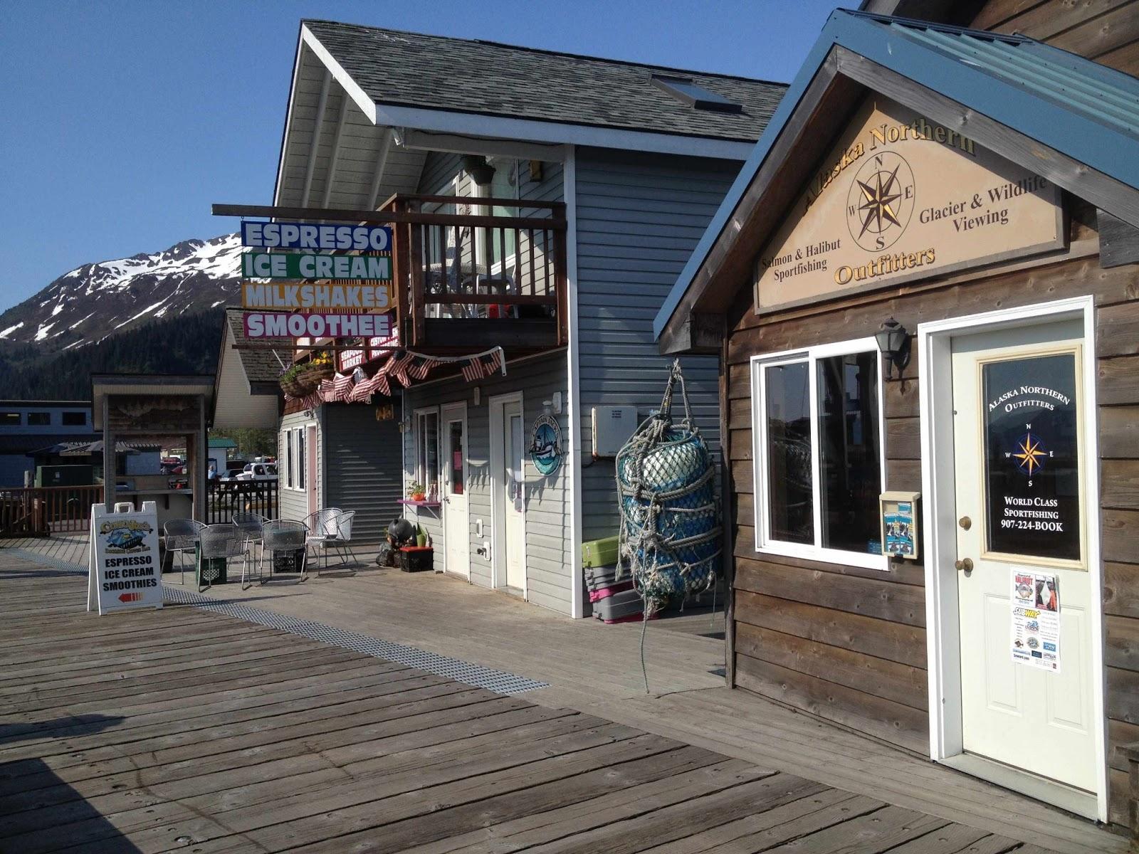 Small Boat Harbor Seward Alaska on Seward Glacier Boat Tours