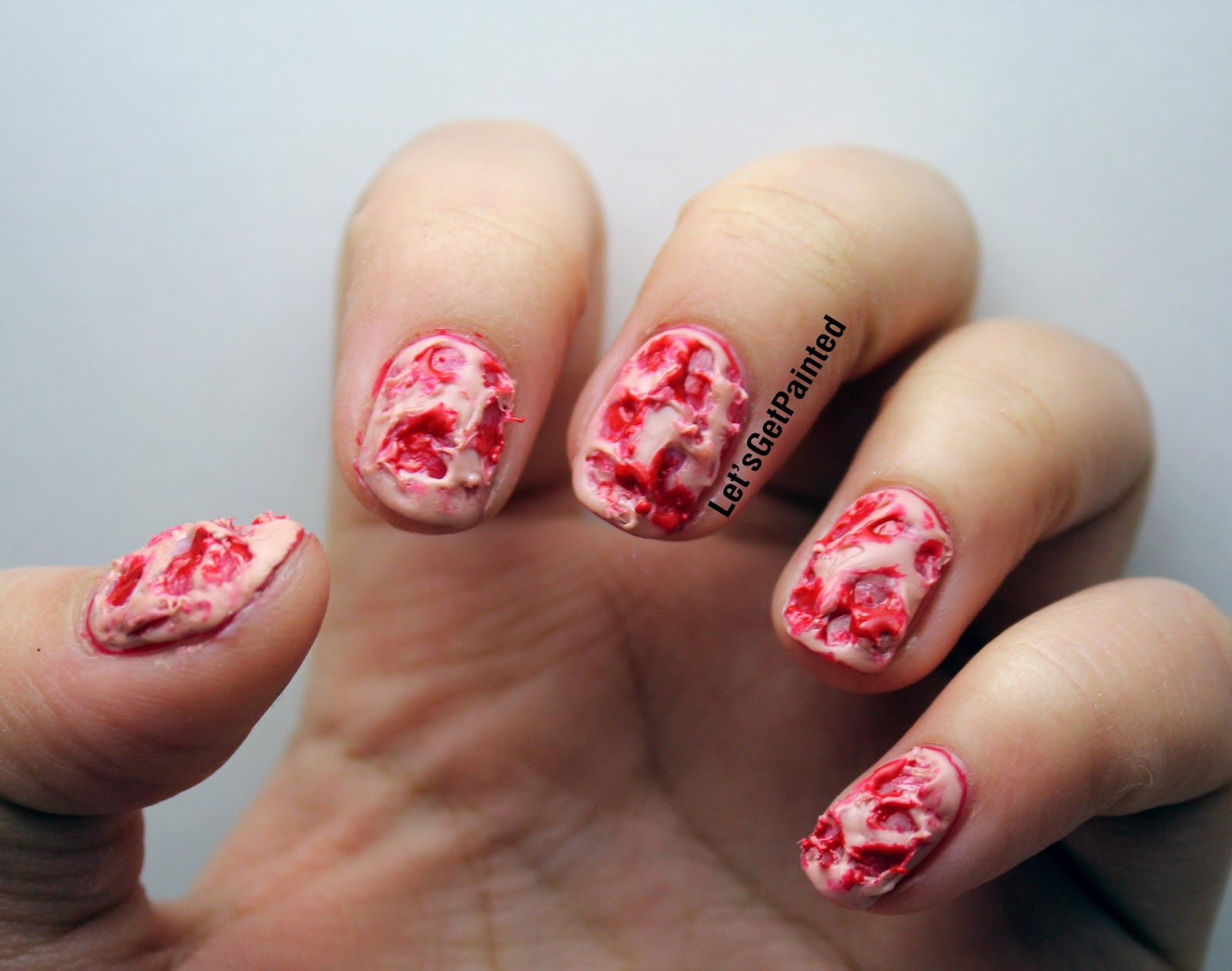 Lets Get Painted April Fools Day Nails