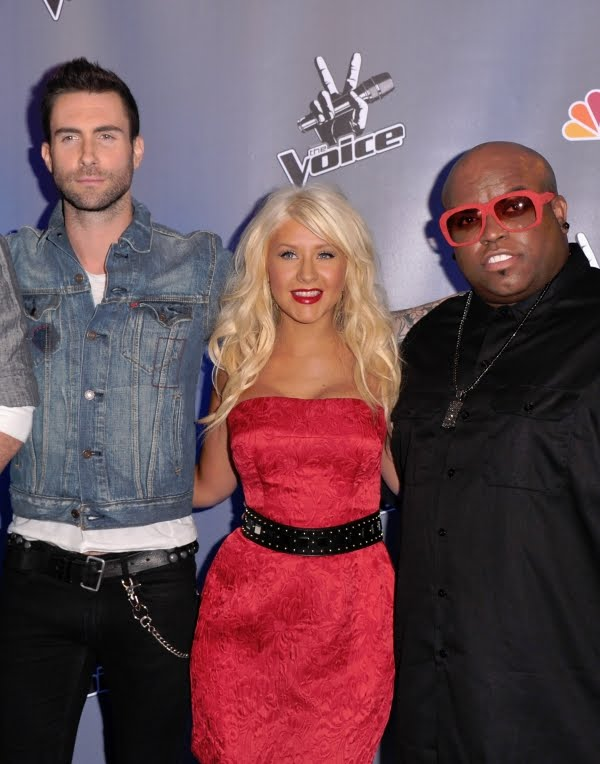 the voice judges crazy. The Voice#39;s Christina Aguilera