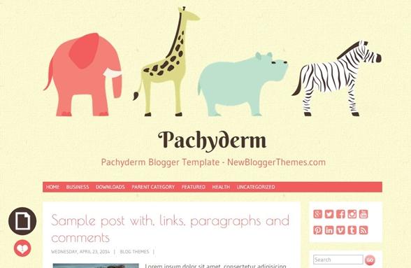 pachyderm - template
