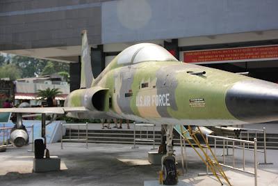 Avion supersonico F-5 americano - Guerra de Vietnam