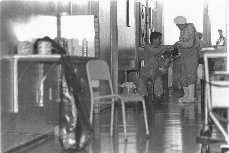 Fotos do acidente radiológico de Goiânia