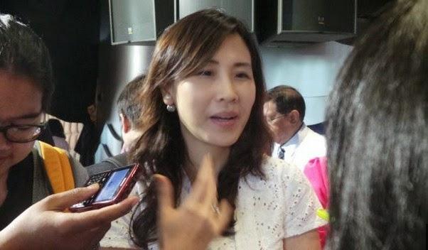 Istri Gubernur Ahok Veronica Tan