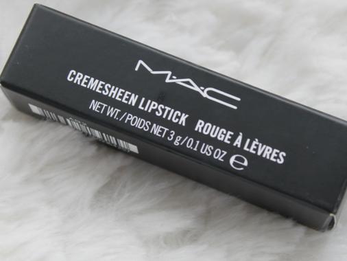 MAC Cremesheen Lipstick - Crosswires.