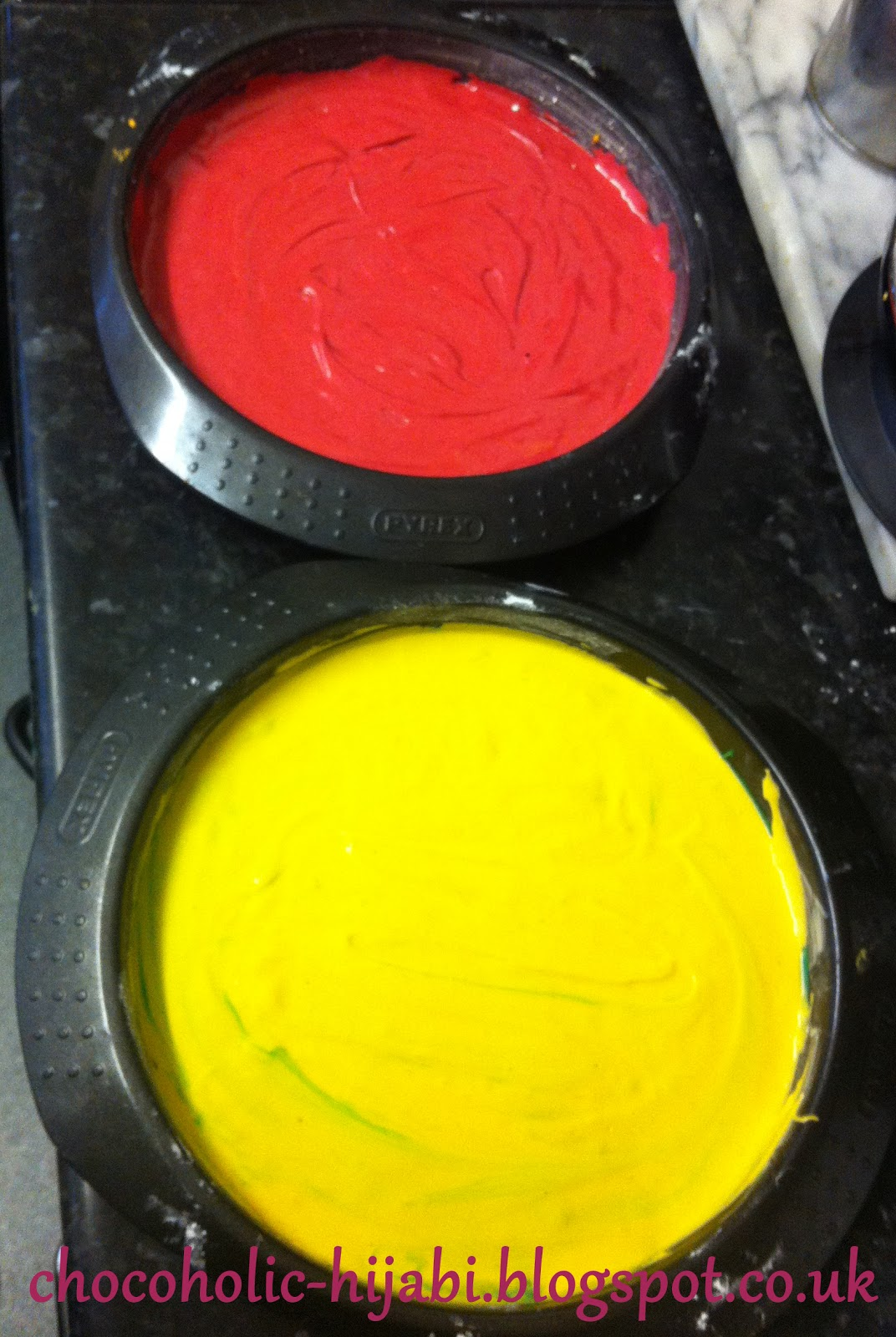 Rainbow Cake Tin Set