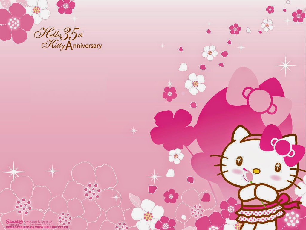 wallpaper hello kitty