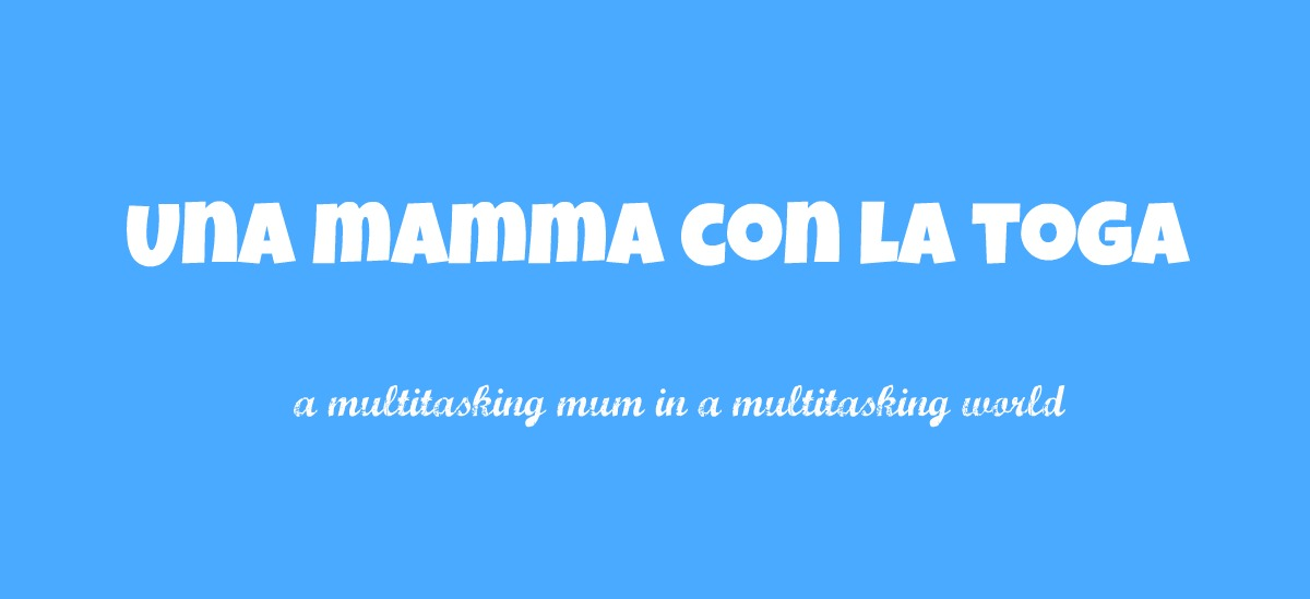 una mamma con la toga