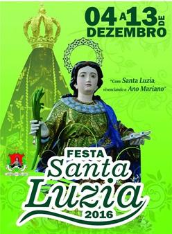 Festa da Padroeira Santa Luzia 2016