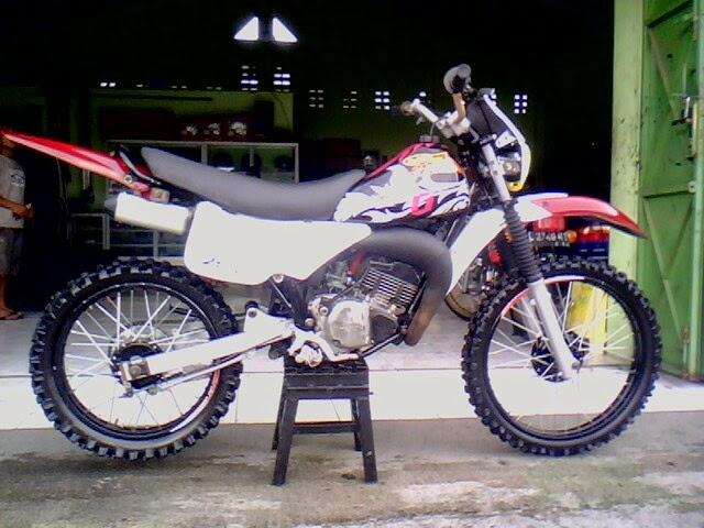 modifikasi motor trail ts 125