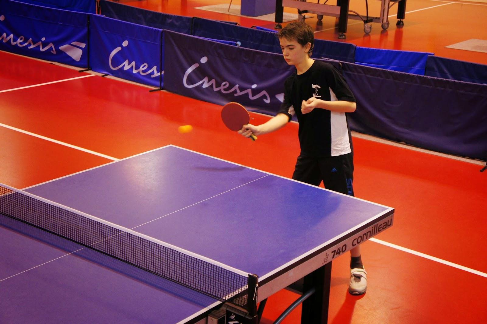 J3 championnat jeunes samedi 10 janvier 2015 tennis - Julien lacroix tennis de table ...