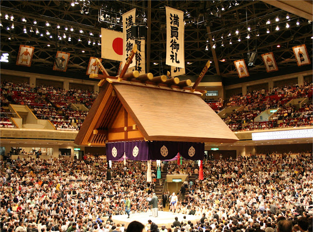 Estadio de Kokugikan en Tokio