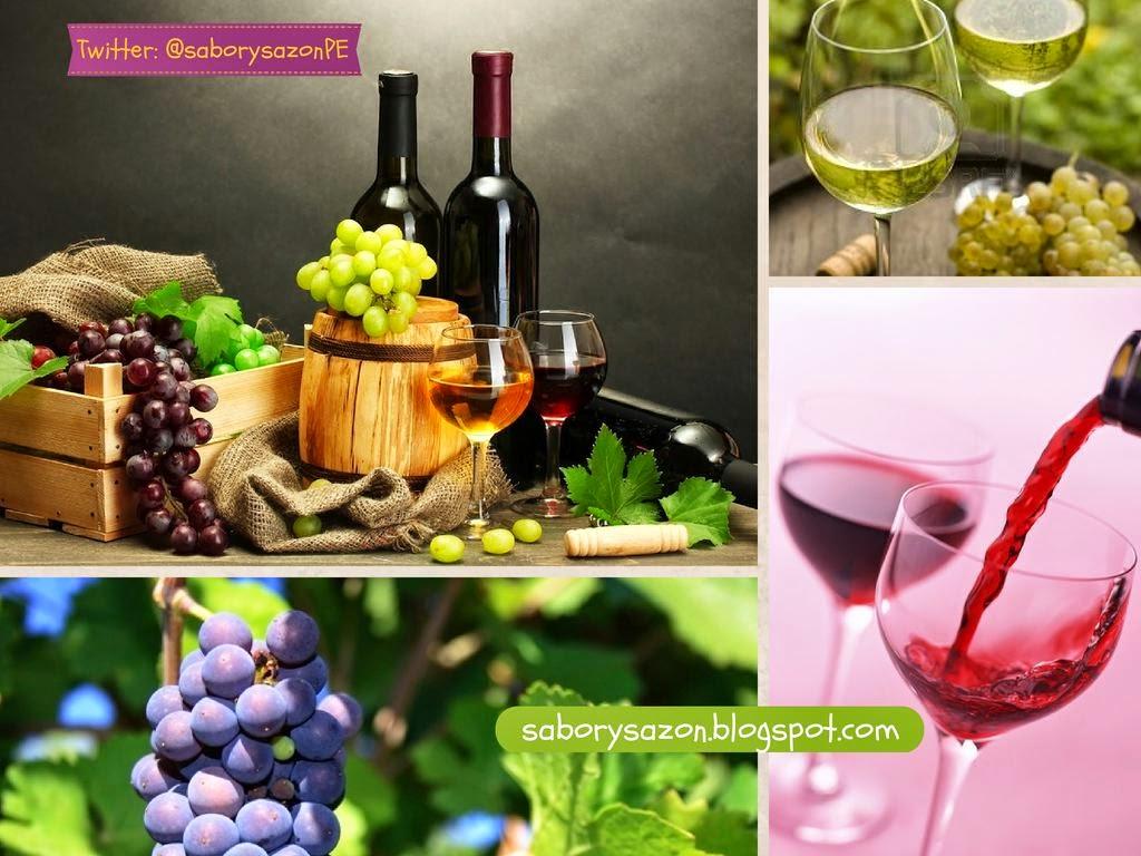 QUE VINO PUEDO SERVIR COMO APERITIVO - Tipos de vinos SABORYSAZON.BLOGSPOT.COM