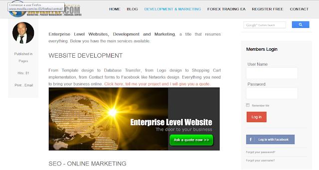 Javier Yep Garcia, JavierYep.com - Webdevelopment