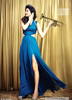 Anushka Sharma photo shoot for People Magzine - July 2013 issue.