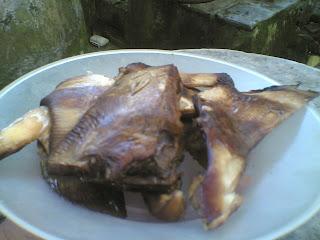 ikan pari bakar