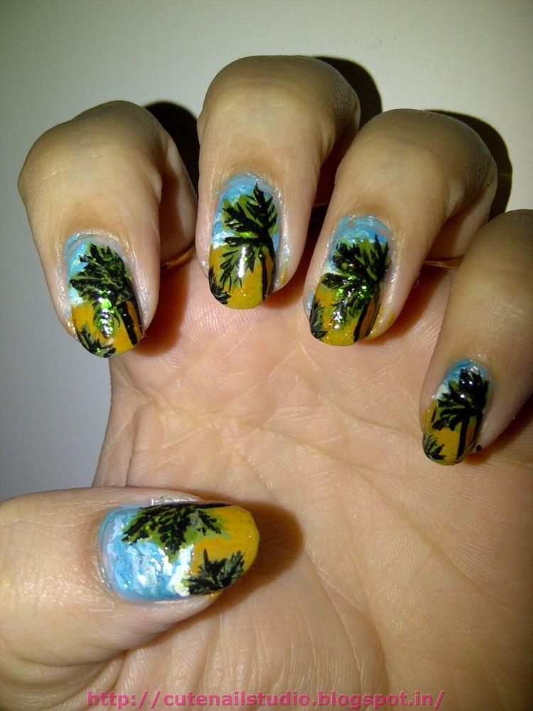 Island Nail Designs