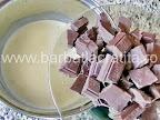 Prajitura Chec cu crema si gem preparare reteta
