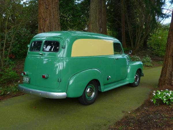 1952 Chevrolet Truck Panel Delivery Auto Restorationice