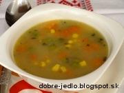 Krémová zeleninová polievka - recept