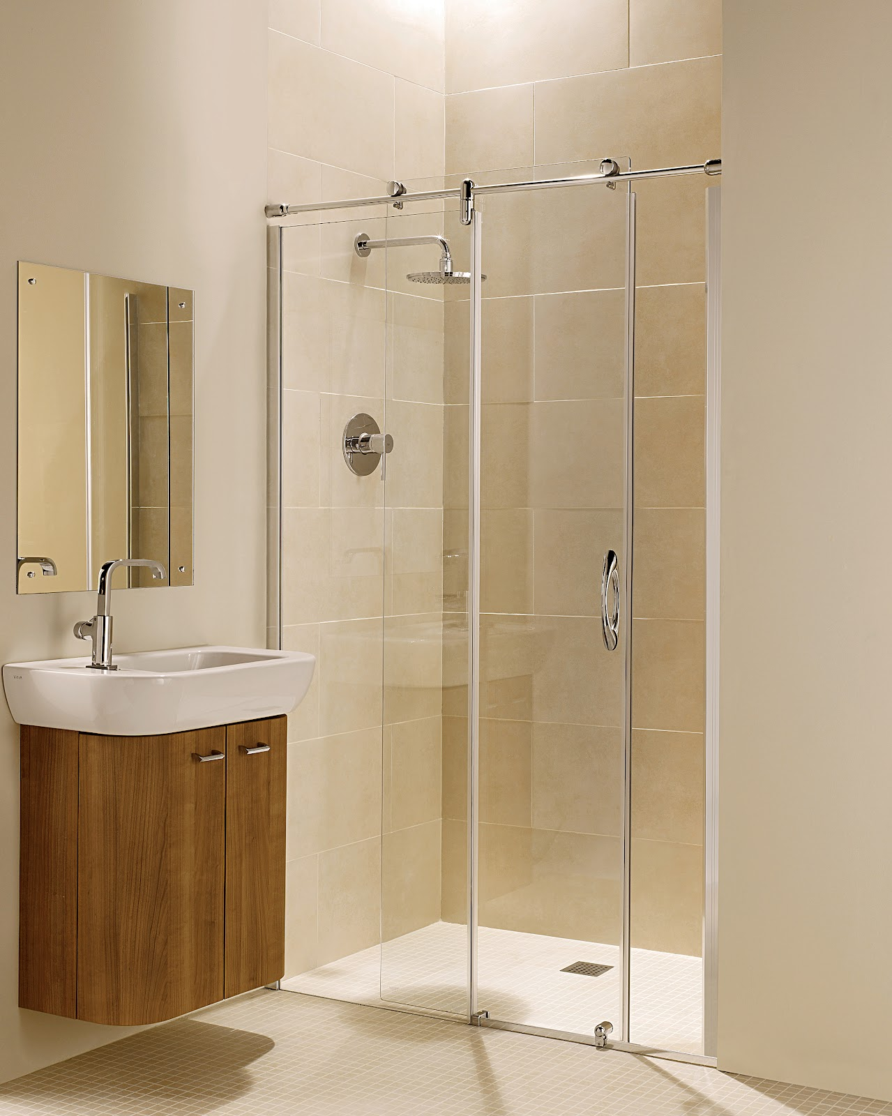 The wetroom specialst blog details on installing a Sliding glass shower doors