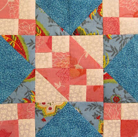tutorial on how to make a star quilt block