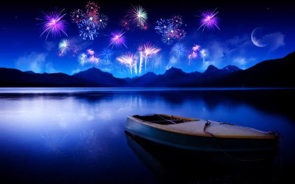 Stunning Fireworks night