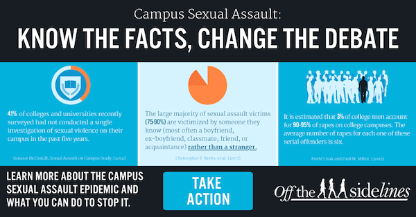 Campus Sexual Assault: Know the Facts, Change the Debate