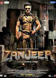Zanjeer movie poster.