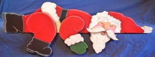 Sleeping Santa Claus Christmas Pics for Facebook Profile Cover Banner