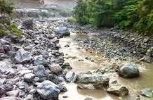 High alert declared after landslide blocks a river in Nepal