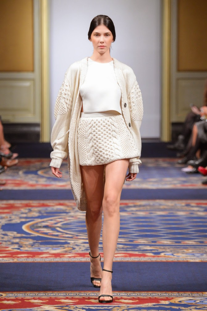 Fashion Runway - Ruban Russia Fall 2015