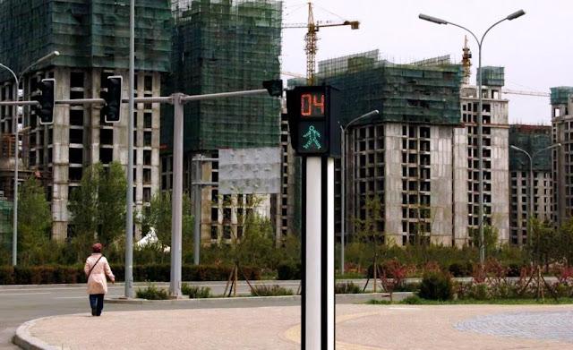 개발 후에 사람이 살지않는 중국 유령도시 위치를 알아내는 방법