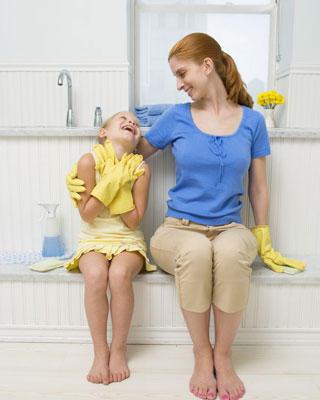 Mẹo vặt cách vệ sinh làm sạch phòng tắm dễ dàng