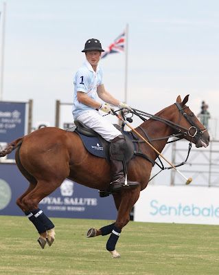 Prince Harry at The Sentebale Royal Salute Polo Cup in Brazil, 2012