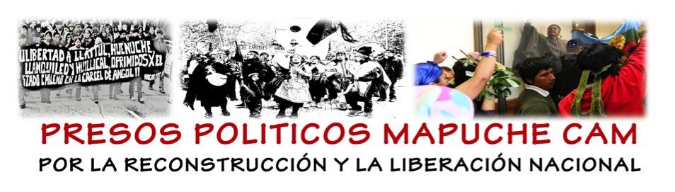 PRESOS POLITICOS MAPUCHE COORDINADORA ARAUCO MALLECO