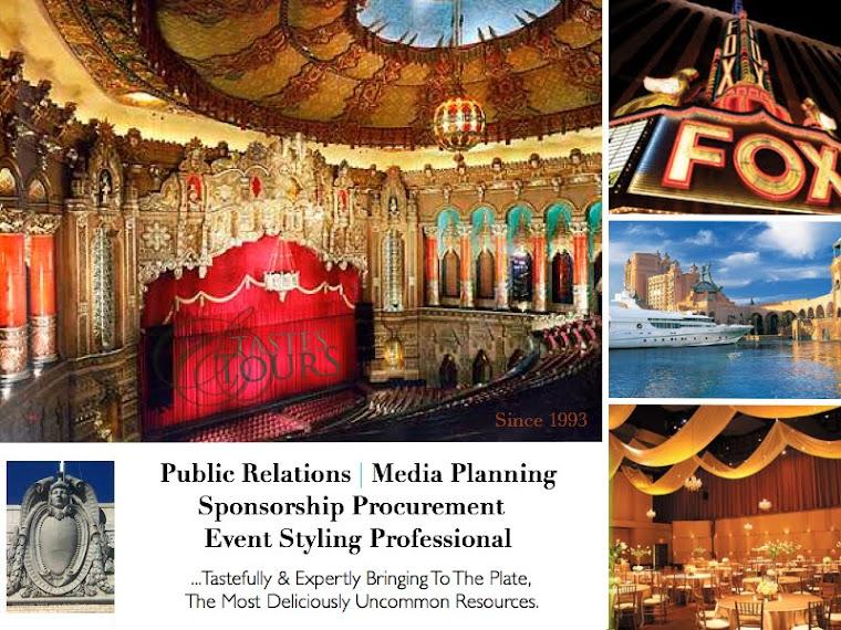 Tamara Young, Public Relations, Media Planning, Sponsorship Procurement, Event Styling Professional