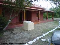 Centro de Visitantes en el area protegida del Colibri Esmeralda en Olanchito