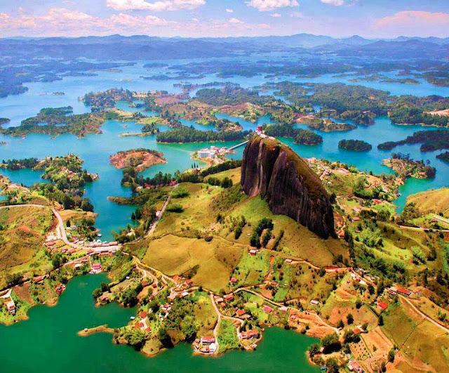 Spanyol, wisata eropa,  La Piedra, wisata unik, aneh, Kolombia, batu,  cakrawala, wisata populer, wisata terkenal, wisata indonesia, backpacker, Travelling, traveller, Wisata Alam,