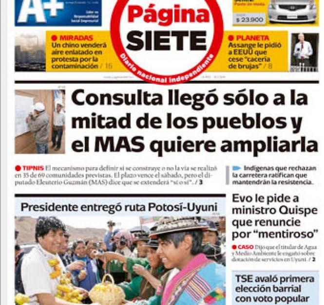 Periódicos de Bolivia