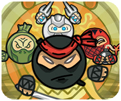 Ninja bay, chơi game ninja hay