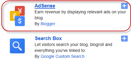 Adsense Ads to Blogger
